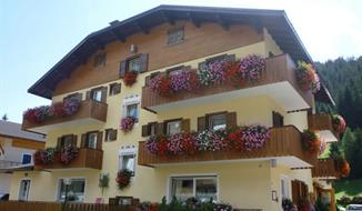 Hotel Rododendri - Bormio Sant´ Antonio hory léto