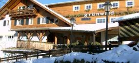 Hotel Grünwald s bazénem PIG- Cavalese