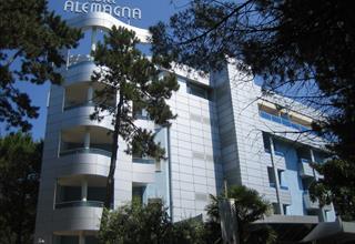 Hotel Alemagna s bazénem  PIG- Bibione Lido del Sole