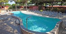 Villaggio Il Gabbiano s bazénem MH– Albinia – Toscana