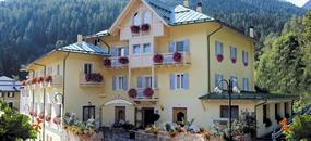 Hotel Pangrazzi s bazénem PŘ- Fucine di Ossana / Peio