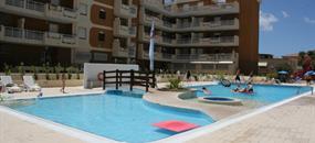 Rezidence Gli Eucalipti s bazénem DI– Alghero
