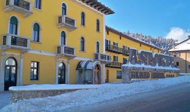 Grand hotel Astoria s bazénem PIG - Lavarone/Folgaria