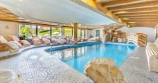 Hotel Weisslahnbad s bazénem Př - St. Cipriano/Tires