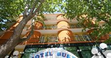 Hotel Susy s bazénem PR – Rimini Rivazzura