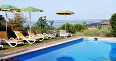 Hotel Panorama s bazénem CH - Costermano