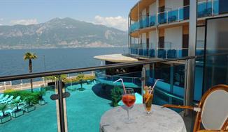 Hotel Caribe s bazénem MH- Brenzone