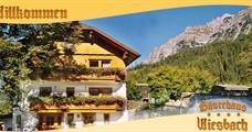 Apartmány Wiesbach – Ramsau am Dachstein léto, karta
