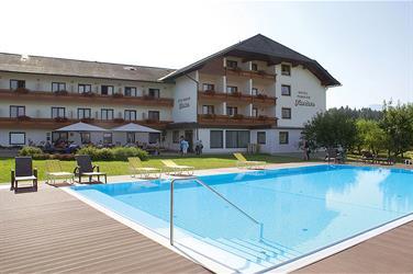 Landhotel Fantur s bazénem – Velden am Wörthersee léto, karta