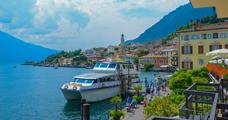 Hotel All´Azzurro s bazénem PIG - Limone sul Garda