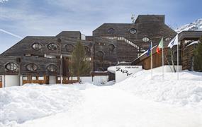 Blu hotel Val Senales s bazénem PŘ- Maso Corto