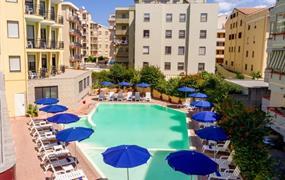 Hotel Rina s bazénem PIG- Alghero