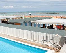 Hotel Leonardo da Vinci s bazénem PIG- Pesaro ***