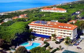 Park hotel s bazénem IT – Baia Domizia