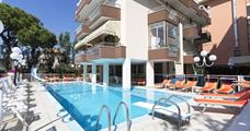 Hotel Cosmos s bazénem PR – Rimini Rivazzura