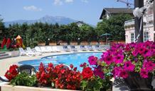 Hotel Bellaria s bazénem PIG – Levico Terme léto