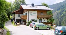 Apartmánový dům Paulina – Saalbach léto, karta