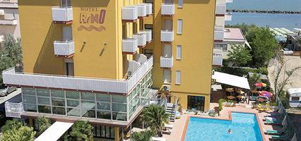 Hotel Reno s bazénem PIG – Lido di Savio