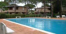 Villaggio Tivoli s bazénem AG– Bibione Spiaggia