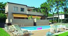 Villa Crepetta s bazénem AL- Lignano Riviera