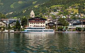 Hotel Seehof - Zell am See léto, karta