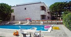 Vilka Briciola s bazénem AL– Lignano Riviera