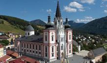 Mariazell, soutěska Wasserlochklamm a Ötscheru