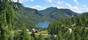 Tauplitzalm - náhorní planina se 6 horskými jezery