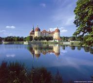 Drážďany a zámek Moritzburg